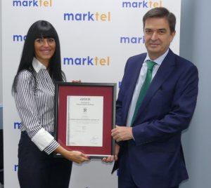 Marktel obtiene una nueva certificación.