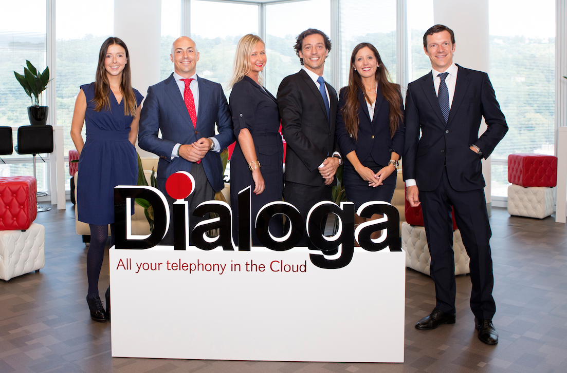 Una imagen del equipo directivo de Dialo.ga.