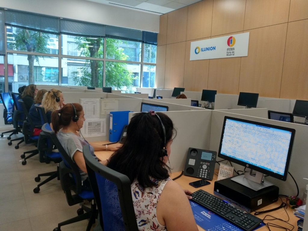 ILUNION Contact Center BPO lleva desde el 1 de junio la gestión de la atención multicanal de IFEMA.