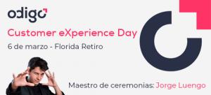 Presentación del Odigo Customer eXperience Day.