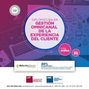 Segunda edición de la diplomatura online de Gestión Omnicanal de la Experiencia al Cliente.