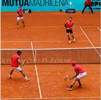 Llega la realidad aumentada a las pistas del Mutua Madrid Open.