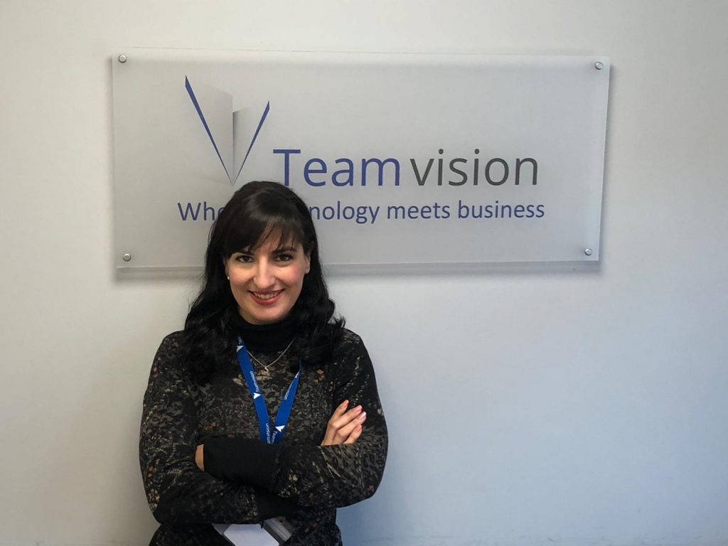 María Fernández, responsable de Marketing de Team vision.
