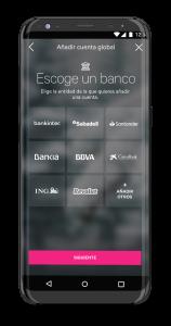 La App de EVO Banco permite integrar las cuentas de otros bancos.
