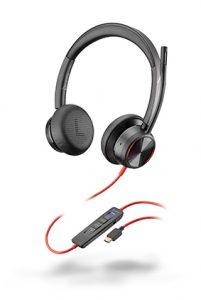 Poly presenta el auricular Blackwire 8225, contra las distracciones del trabajo.