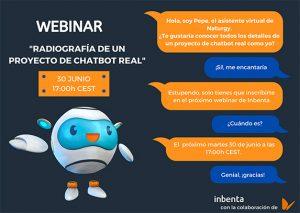 Webinar Inbenta-Naturgy: Radiografía de un proyecto de chatbot real.