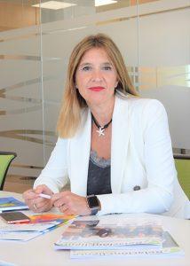LUNION Caontact Center ha obtenido la acreditacón Garantía Madrid. En la foro Susana Sánchez, directora general de Ia compañía.