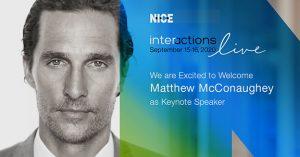 El evento NICE Interactions Live 2020 ya calienta motores.