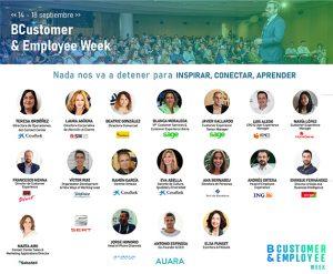 BCustomer & Employee Week completa su interesante agenda de conferencias.