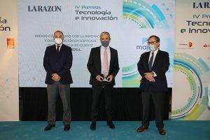 Majorel galardonada en los Premios Tecnología e Innovación de La Razón.