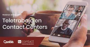 ¿Cómo está ayudando la tecnología a facilitar el teletrabajo en los contact centers?