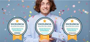 Cita en la Gala de los Premios a la Excelencia en la Relación con Clientes, el 17 de diciembre.