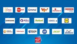 Veinte empresas reconocidas como Líderes en Servicio por la calidad de su atención al cliente.