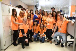 Agentes de Atento participan en La Gala de la Fundación Inocente.