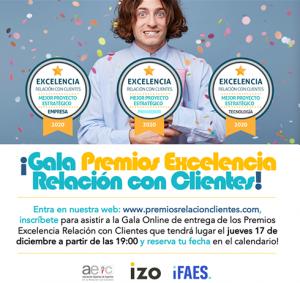 Gala de los Premios a la Excelencia en la Relación con Clientes.