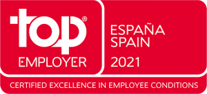 Por cuarto año consecutivo, Transcom logra la certificación Top Employer España.