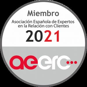 La nueva imagen corporativa de la AEERC se refleja en su sello de pertenecia a la misma.