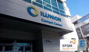 ILUNION Contact Center BPO, primera certificada con el Sello EFQM 400+ en su sector.