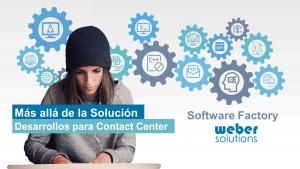 Software Factory es la nueva unidad de negocio de Weber Solutions.
