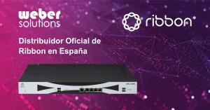 Las soluciones SBC de Ribbon serán distribuidas en España por Weber Solutions.