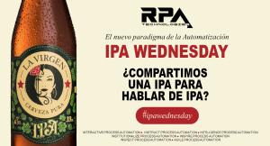 Llega IPA Wednesday, sesiones de debates organizados por RPA Technologies.