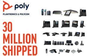 Poly ha vendido 30 millones de teléfonos IP en su 20 años de existencia.