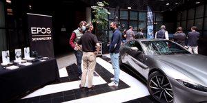 Exclusiva cita para sus partners organizada por EPOS y Aston Martin.