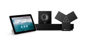 Poly: experiencia sin contacto con Zoom Rooms y Alexa for Business.