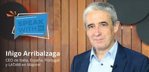 En Speak with Go, Íñigo Arribalzaga, CEO de España, Portugal y Latam en Majorel.