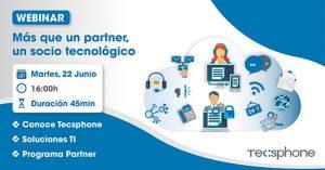 Tecsphone presenta su programa de partners en una sesión online.