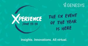 Todo preparado para Xperience 2021, el evento de CX del año de Genesys.
