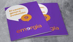 Emergia presenta su nueva imagen corporativa coincidiendo con el crecimiento de la compañía.