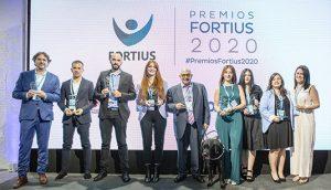 Ganadaores de los Premios Fortius 2020.