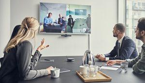 El éxito para el trabajo híbrido pasa por contar con soluciones de audio de calidad.