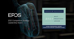 Frost & Sullivan premia a EPOS por su Liderazgo en Estrategia Competitiva Global .
