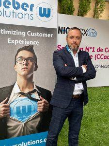 Jorge Martín, de Webr Solutions, habla de las potencialidades del cloud en el contact center.