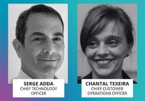 Serge Adda y Chantal Teixeira nuevas incorporaciones al equipo de dirección de Vocalcom.