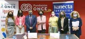 Fundación ONCE y Konecta renuenvan su colaboración por la inclusión laboral.