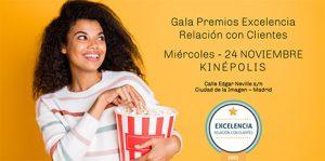 La gala de los Premios Excelncia 2021.