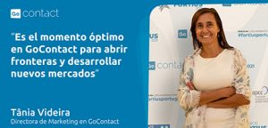 Tânia Videira, directora Marketing de GoContact.