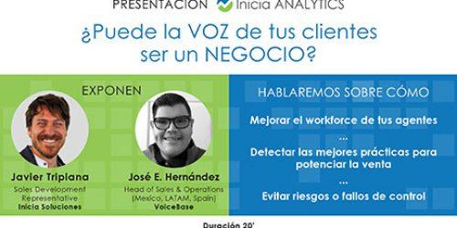 Inicia Analytics, o cómo aprovechar el potencial de la voz de los clientes.